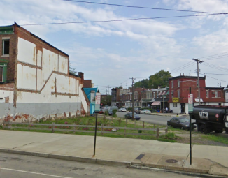 Development on the 5000 block of Baltimore