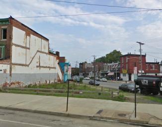 Development on the 5000 block of Baltimore